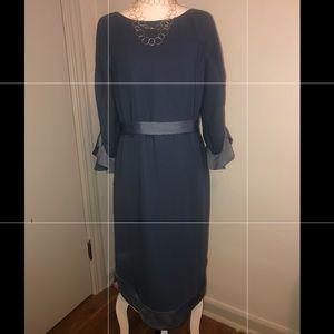 NWT BANANA REPUBLIC FLUTTER SLEEVE DRESS size 10